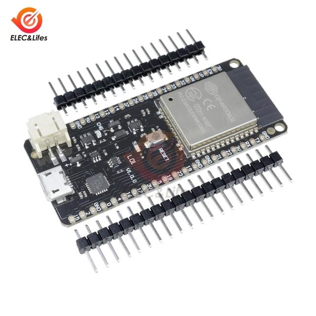 WeMos Mini D1 LOLIN32 ESP32 ESP 32 ESP 32S ESP32S Wifi Bluetooth 무선 모듈 기반 ESP WROOM 32 듀얼 코어 CPU 4MB 플래시