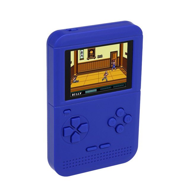 Q1 Handheld Game Console Gaming Machine Dual Battery Supply Built-in 300 Classic Games AV With 2.6inch Screen Display For Kids