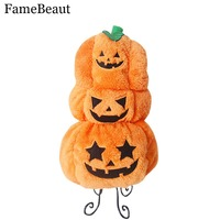 FameBeaut Fashion Dog Halloween Clothes Pet Halloween Costume Fashion Draping Pumpkin Pattern For Pet Dog In