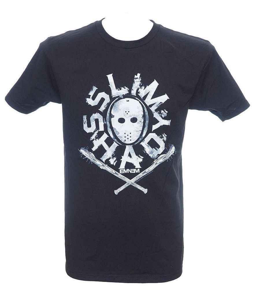 Gildan Eminem Slim Shady Masker T-Shirt SM, MD, LG, XL, XXL Nieuwe