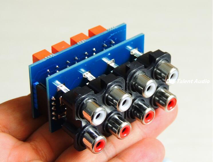 Standby board Assembled Remote ALPS motor Volume control preamplifier board