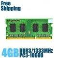 Brand New Sealed DDR3 1066/1333/1600/PC3 10600 1 GB/2 GB/4 GB Laptop Memoria RAM/garantía de Por Vida/Envío Libre!!!