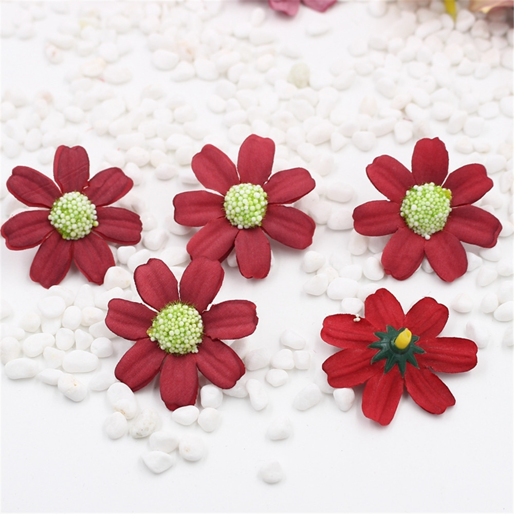 45cm Big 5pcslot Artificial Daisy Flower For Home Wedding Party