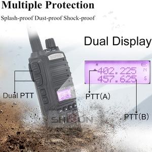 Image 4 - BaoFeng Walkie Talkie UV 82 Upgrade 8W Baofeng UV 82 Dual PTT Headset Mic Walkie Talkie 10 KM Baofeng 8W Radios baofeng uv 9r 5R