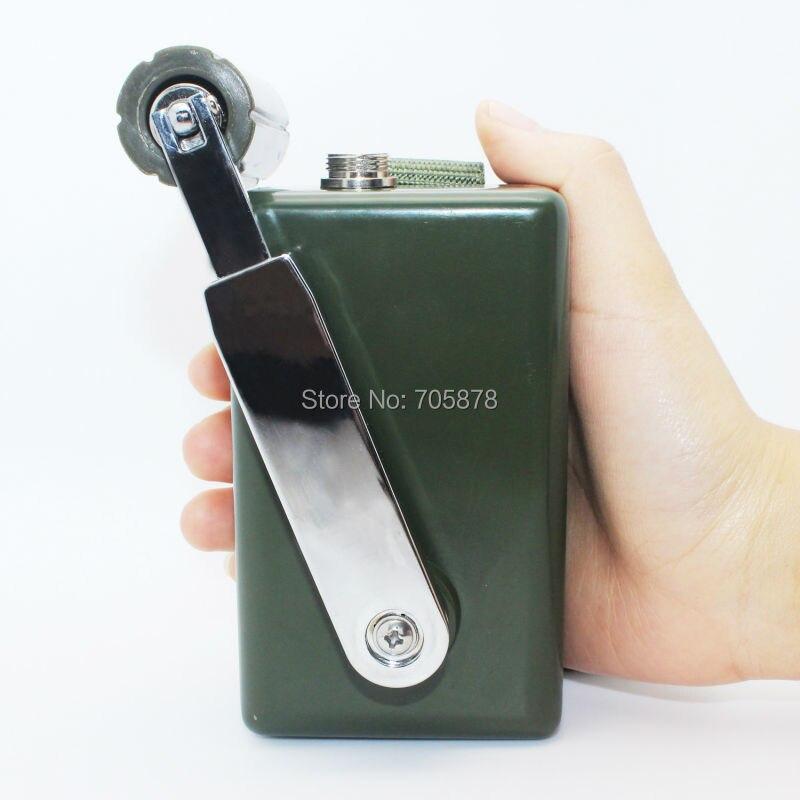 Ручной Кривошип генератор супер мощность Динамо USB зарядное устройство для телефона 30 Вт портативное наружное зарядное устройство