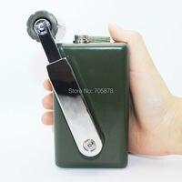 Ручной генератор Super power dynamo USB зарядное устройство для телефона 30 Вт портативное наружное зарядное устройство