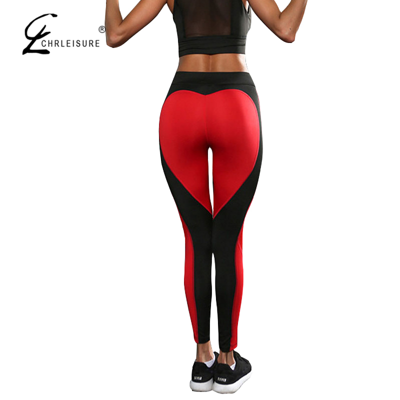 Zielstrebig Chrleisure S-l 4 Push-up Mesh Womne Leggings Sexy Herz Workout Jeggings Feminina Mode Polyester Legging Femme Frauen Kleidung & Zubehör Pullover
