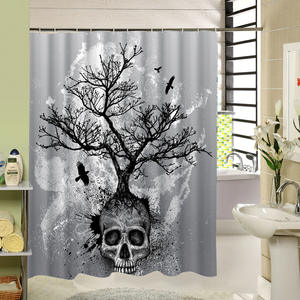 Seacloud Waterproof Fabric Bathroom Shower Curtain Bath