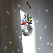H& D хрустальный шар Защита от солнца для окна Радуга производитель Рождественский Декор подвесная люстра Призма Висячие солнечные Ловец(многоцветный