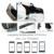 2016 hot google cartón bobovr z4 vr 360 grados de visualización 3d virtual inmersiva experiencia de 4.7 ''-6.2'' smartphone gafas de realidad