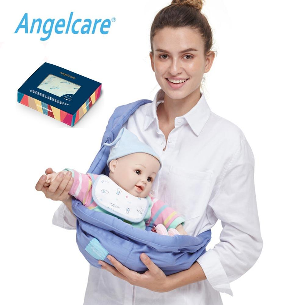 Angelcare Newborn Baby Carrier Swaddle Sling Infant Nursing  Front Carry Wrap Pure Cotton Breastfeed Feeding Carry Bag