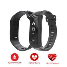 M2 smart Сердечного ритма Мониторы браслет Приборы для измерения артериального давления кислорода Фитнес браслет Спорт smartband для iOS телефона Android
