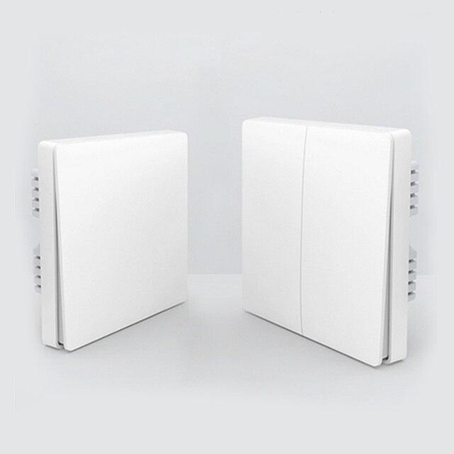 Original Xiaomi Aqara Smart Home Light Control ZiGBee Wireless Key and Wall Switch Via Smarphone APP Remote Control