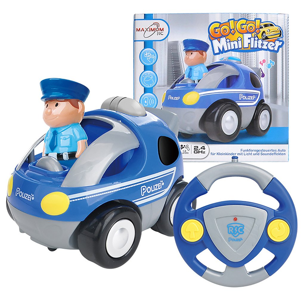 New! Cute Cartoon RC Race Car Radio Control Toy Vehicle with Sound Music Flashing Light Electric Toys for Kids Toddlers