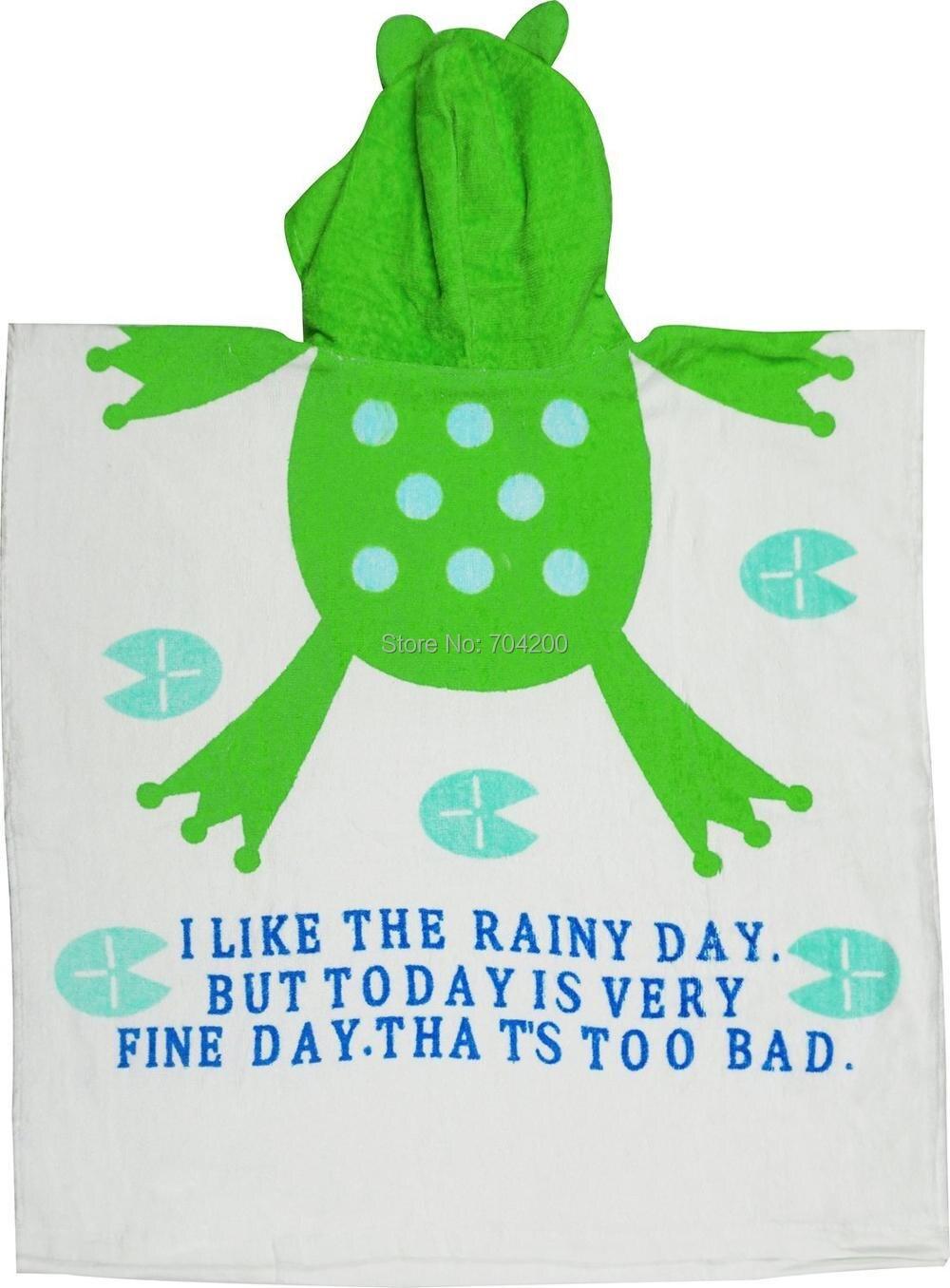 dos desenhos animados toalha de banho roupões