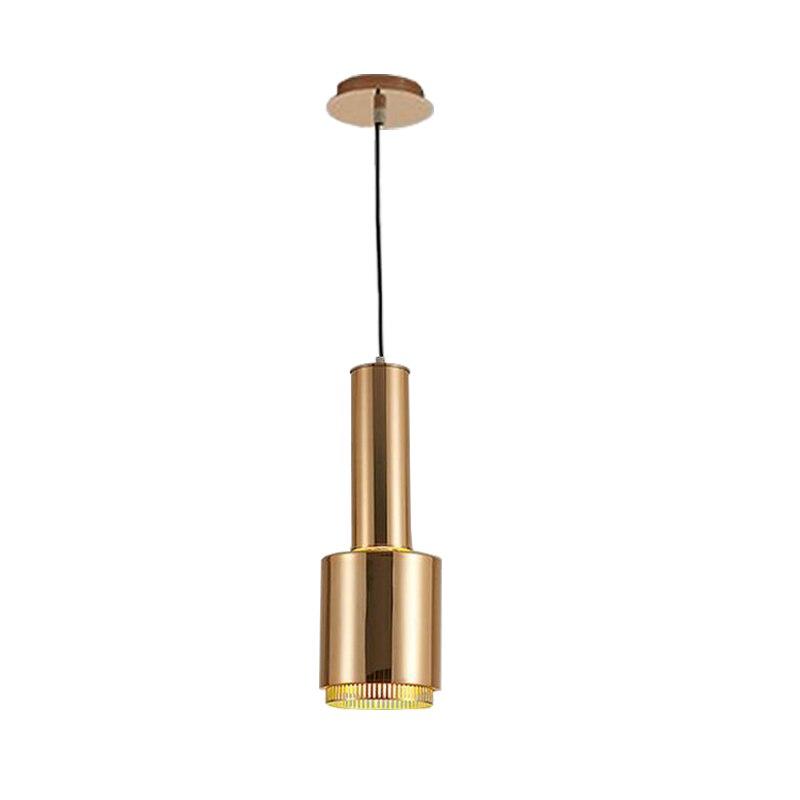 Новое поступление светодиодный подвесной светильник современный черный подвесной светильник Dia16 * H45cm для кофейной комнаты подвесной свети