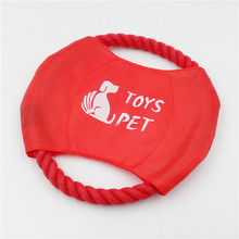 1pcs Dourable Pet Dog Frisbee Flying Discs Toy High Quality
