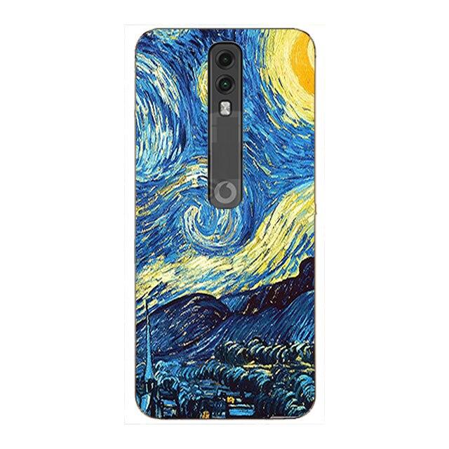 Case For Vodafone Smart V10 V 10 VFD730 Cover Funda Case Pattern 3D Coque Bag Smart For Vodafone N10 N 10 VFD630 Phone Cases