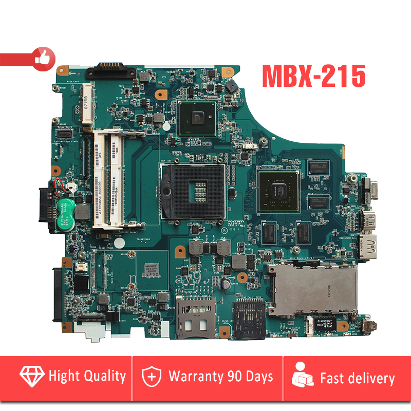 YTAI MBX-215 for Sony VAIO VPC-F M930 MBX-215 laptop motherboard DDR3 PM55 A1765405C REV:1.2 1P-009BJ00-8012 mainboard 100% Test lost ink повседневные брюки