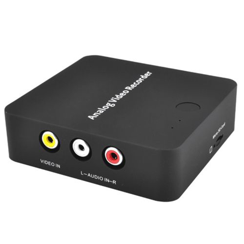 272 Anolog Video Recorder AV Capture Analog to Digital Video Recorder Audio Video input AV HDMI Output to Micro SD TF Card