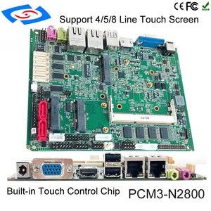 Image 5 - 2019 新しいボードミニラップトップコンピュータのマザーボードのインテル Atom N2800 ミニ PC マルチポート産業用マザーボード