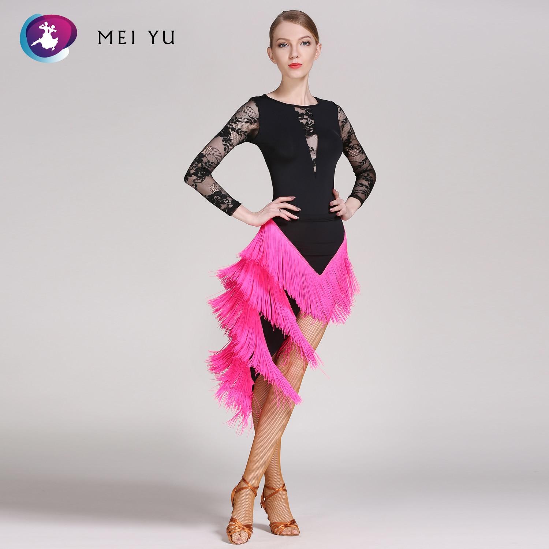 Mei Yu Gb015 En Yl290 Latin Dance Top En Rok Past Dans Jurk Ballroom Kostuum Turnpakje Vrouwen Dame Avondfeest Jurk Verlichten Van Warmte En Dorst.