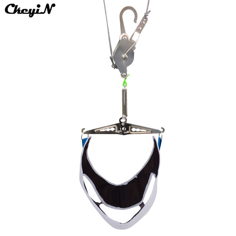 все цены на Portable Cervical Traction Frame Hanging Neck Traction Home Cervical Treatment Tension Neck Pain Relief Medical Suspension Tool