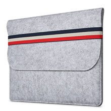 SABAINA Universal 11 13 15 inch Wool Felt Inner Notebook Laptop Sleeve Bag Carrying Handle Bag For Macbook Air 11.6 13.3 Retina new brand 11 6 laptop case denim notebook bag for toshiba satellite nb15t a1302 11 6 tablet handle carrying sleeve portfolio