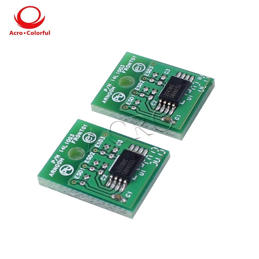 6K 52D1000 521 Toner chip for Lexmark MS810 MS811 MS812 North America laser printer toner cartridge refill