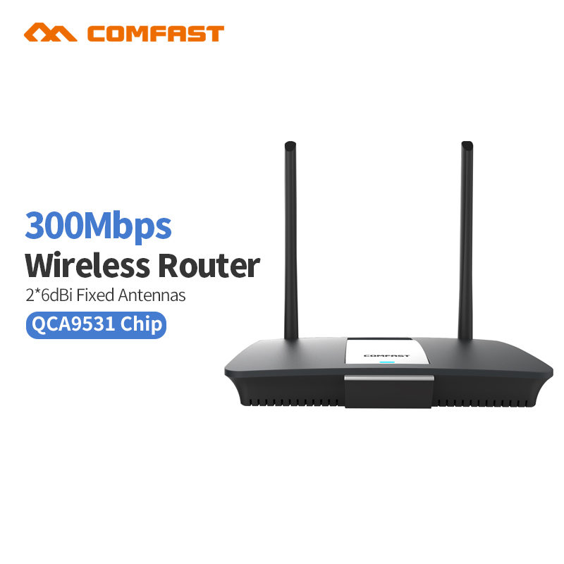 Comfast CF-WR610N 300Mbps WiFi Wireless Router AR9341 Wi-Fi Rrouter Home Network Access Point RJ45 14dBi Antenna wi fi Router 32pcs magnetic tiles building mini magnetic blocks solid 3d magnetic block building toys for children bricks