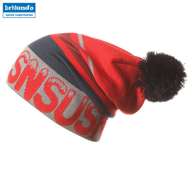 2018 Wew Snowboard Winter Ski SKULLIES CAPS Hats Beanies Wool Knitted Head Warm For Men Woman Gorros De Lana