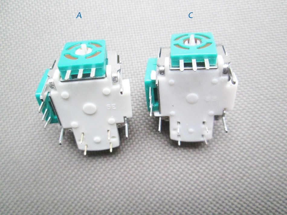 Wysokiej jakości nowe 3D analogowy Joystick kij do konsoli Xbox 360 bezprzewodowy/drutu kontroler dla Xbox360 naprawy części,
