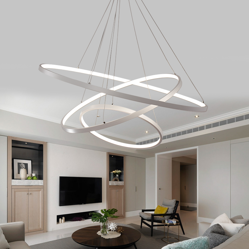 Modern Halo LED Chandelier Hanging Lighting Staircase Chandeliers Luxury Cristal Chandelier Lamp for Living Dining Room Decor modern classic maria theresa crystal chandelier hanging lighting led lamp cristal glass chandeliers light for home hotel decor