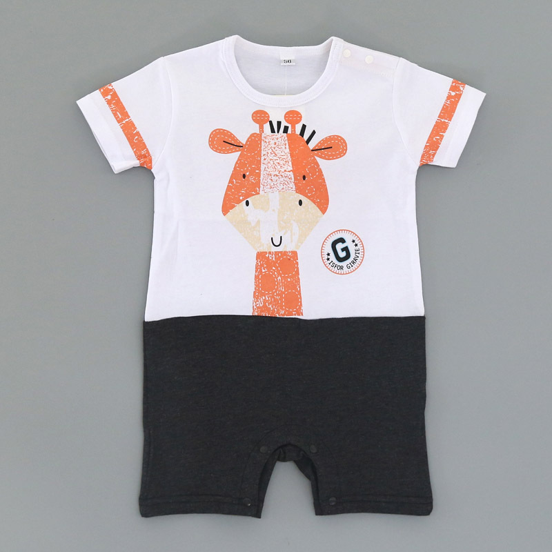 2020 Baby Rompers Summer Lovely Baby Boy Girl Clothing Newborn Infant Penguin Short Sleeve Clothes baby boy girl Jumpsuits Kids Rompers cb5feb1b7314637725a2e7: A|C|D|E|F