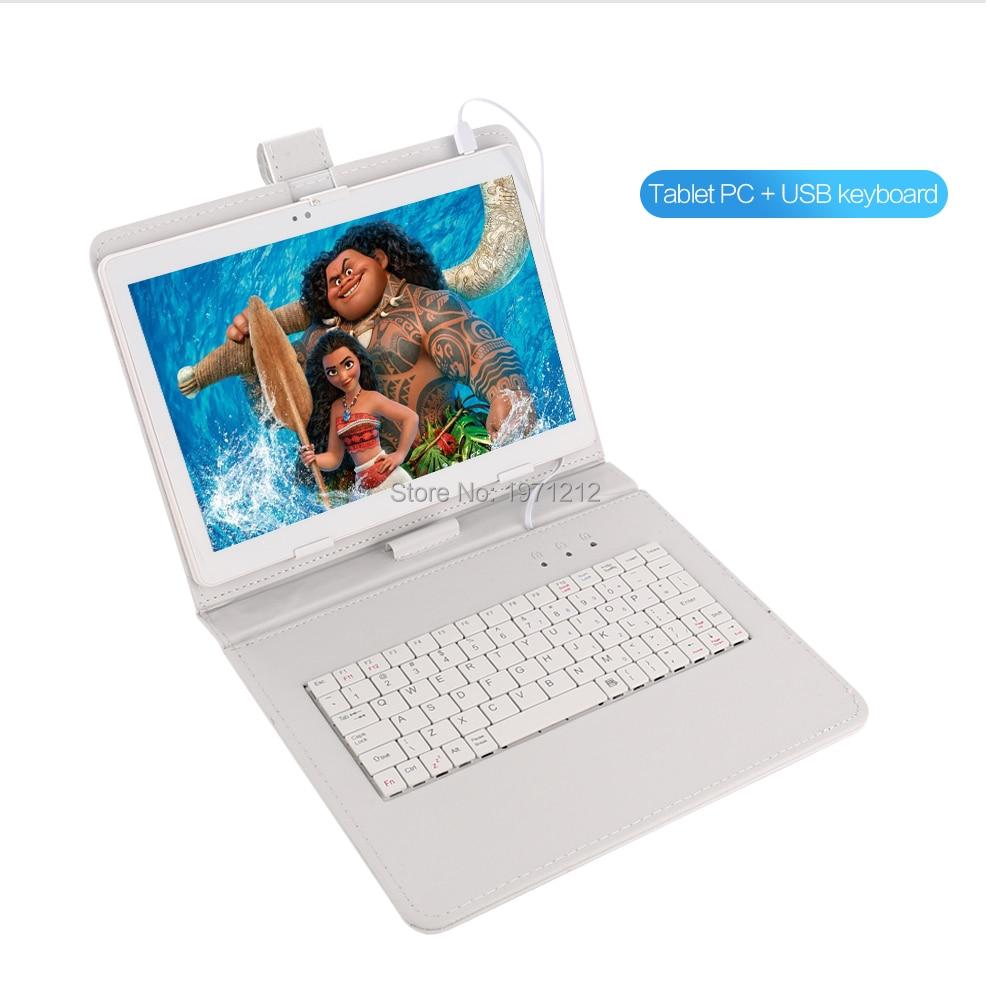 Nouveau 10 pouce Conception Originale 3g 4g Appel Téléphonique Android 7.0 Octa Core IPS pc Tablet WiFi 4g + 64g 7 8 9 10 android tablet pc 4 gb 64 gb