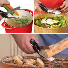 Clever Cutter 2 In 1 Cutting Board And Knife Scissors