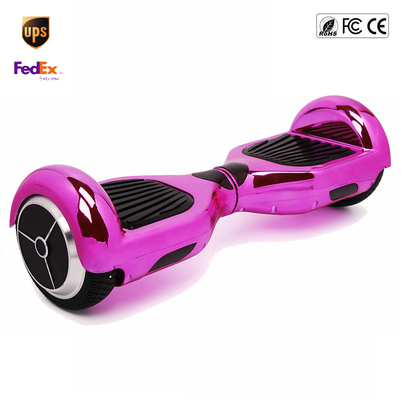 speedway two wheel scooter chrome hoverboard 6 5 inch smart wheel drift skateboard electric. Black Bedroom Furniture Sets. Home Design Ideas