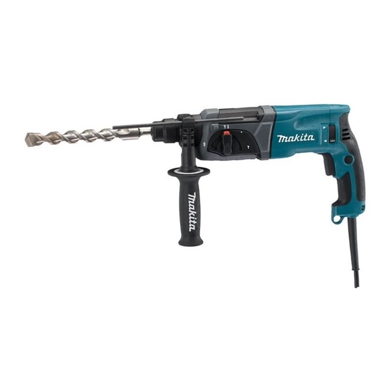 цена на Electric hammer drill Makita HR2470 (Power 780 W type drill chuck SDS, reverse)