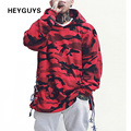 HEYGUYS HOT 2017 camouflage hoodie men fashion sweatshirts brand orignal design casual suit pullover for me autumn