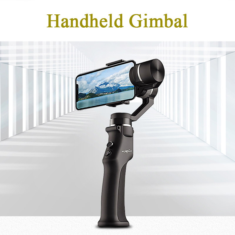 Eyemind Smartphone Handheld Gimbal 3 Axis Stabilizer for Phone Action Camera Anti Shake Bluetooth APP Selfie