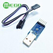 USB 2,0 к ttl UART 6PIN модуль последовательный преобразователь CP2104 STC PRGMR Замена CP2102 с кабелями Dupont