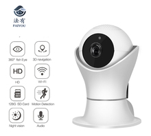 Internet Network HD 1080P Video Camera Wireless WIFI Camera IP AP CCTV Cam H.264 2MP Support 3D Navigation Intercom Encryption