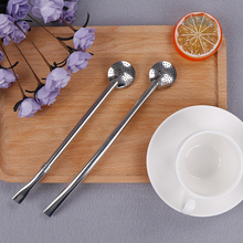1PC Creative Filter Stainless Steel Hot Drinking Straw Handmade Yerba Mate Tea Gourd Washable Tool
