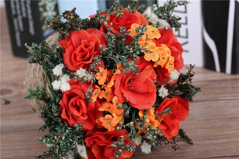 Tulokas! Halpa keinotekoinen kukka-asetelma Koristeellinen ruukkunut - Tavarat lomien ja puolueiden - Valokuva 6