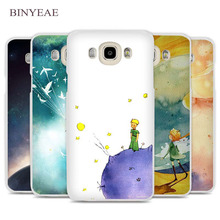 BINYEAE The Little Prince and the Fox Phone Case Cover for Samsung Galaxy J1 J2 J3 J5 J7 C5 C7 C9 E5 E7 2016 2017
