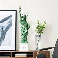 Statue Of Liberty Harz Voll Länge Porträt Statue Europäischen Stil Modell Home Dekorationen G1333-in Statuen & Skulpturen aus Heim und Garten bei