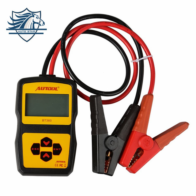 Original Auto Battery Tester Autool BT360 12V Car Automotive Battery Analyzer Multi-Language Spanish Russian Support 2000 EN/CCA