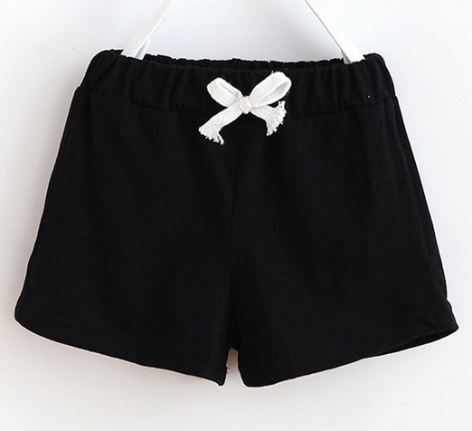 2018 boy girl summer cotton   shorts   Soft comfortable toddler Solid color baby pants children clothing kids clothes casual style