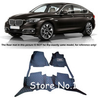 For BMW 5 Series GT F07 2010 2015 Custom Waterproof Car Styling Car Floor Mats Pads Liner Cover