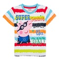 High Quality Cheap Cute Boys T-shirt Summer Cartoon Pig T Shirt   bobo choses Children Kids  Clothes Short Sleeve  T-Shirts